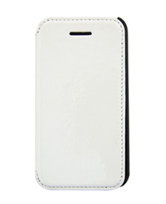 Sublimation PU Glossy Leather Flip Cover iPhone 4/4S